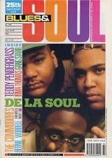 De La Soul Teddy Pendergrass Commodores Gang Starr Irma Thomas Worrell Magazine