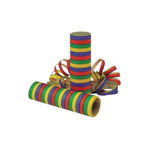 Parti Décorations Colorées jeter rayées serpentins ignifuges style rétro