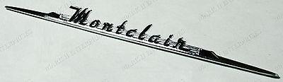 1955 55 Mercury Montclair Dash Nameplate Script NEW BU-7604460-B