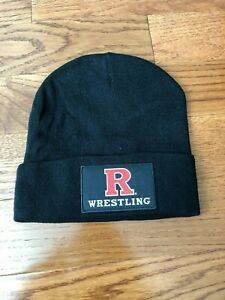 RUTGERS-SCARLET-KNIGHTS-WRESTLING-SGA-AUTOLAND-WINTER-HAT-COACH-SCOTT-GOODALE