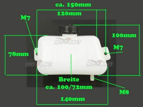 Pocket-Bike Benzintank Tank mit Benzinhahn Schlauch und Filter Pocket Bike 49ccm