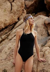 NEW Free People Movement Happiness Runs Bodysuit Yoga in Black XS//S /& M//L $56.56
