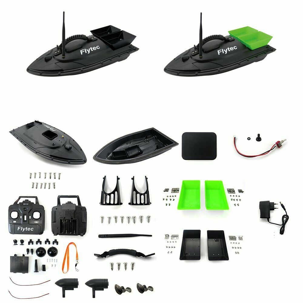 Coloreee verde Flytec 2011-5 Generation Fishing Bait  Rc Boat Kit Without Circuit B  outlet online