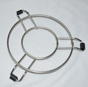 Image Is Loading Stainless Steel Hot Vessel Pan Pot Stand Pressure