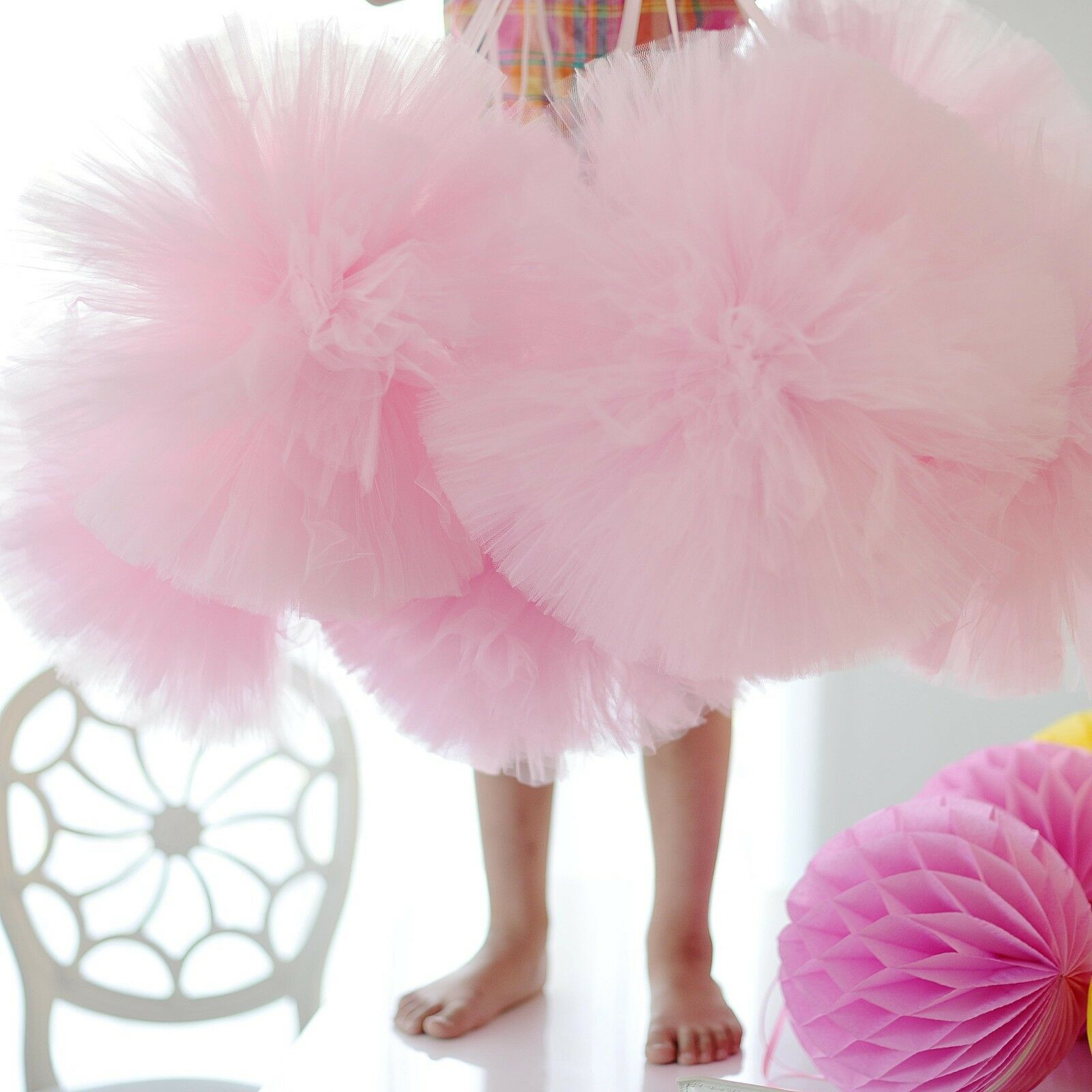 Tulle pompons Parti Décoration Set 6 Mixte Taille-Couleurs MARIAGE/Nursery Personnalisées MARIAGE/Nursery Taille-Couleurs ee565b