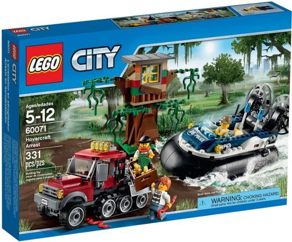 LEGO città (60071)  Swamp polizia HOVERCRAFT ARRESTO (& Nuovo Di Zecca Sigillato in fabbrica)  compra meglio