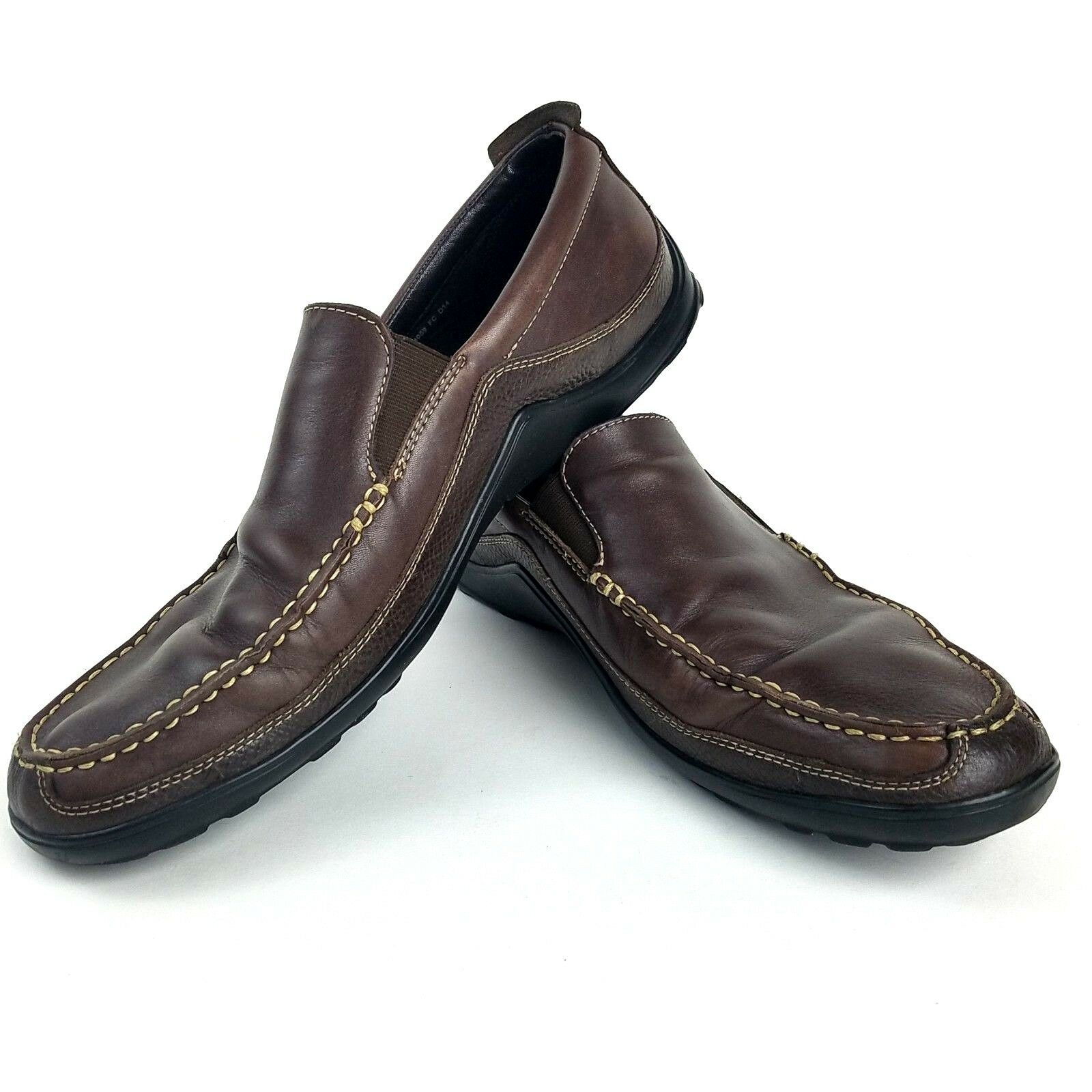 COLE HAAN Tucker Venetian C04059 Size 13M Brown Leather Loafers Mens shoes