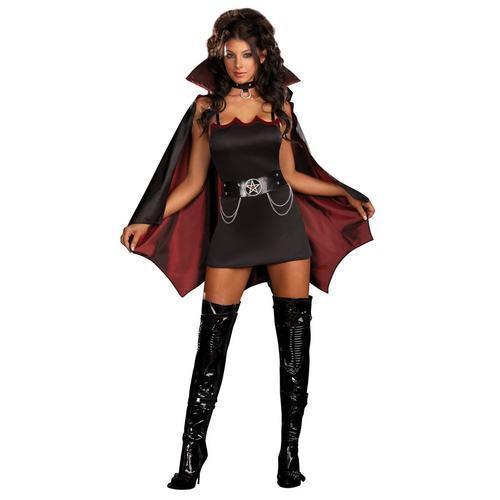 Fang Bangin Fun Vamp Costume Adult Dreamgirl 5991 sizes s,m,l