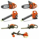 Husqvarna Toy Chainsaw, Leaf Blower, Hedge Trimmer 2-Packs Each & Lawn Trimmer
