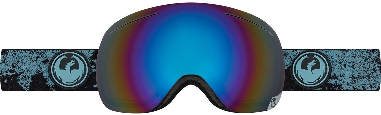 New Dragon X1 Ski Snowboard Goggles Mason bluee - Flash bluee Polarized