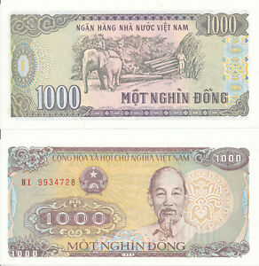Vietnam-Viet-Nam-1000-Dong-1988-UNC-Pick-106