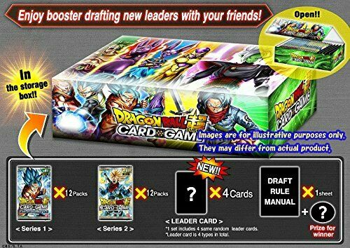 Dragon Ball Z Super Galactic Battle TCG - Draft Box 01 - English