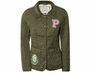 Boutique Khaki Country Padded Olive L Quilted Custom Pauls Patch £75 Jacket Zw6qw