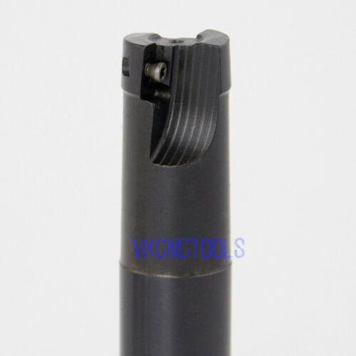 Dia.16mm*15mm Shank*160mm Length Right-angle Indexable Mill Cutter for APMT1135