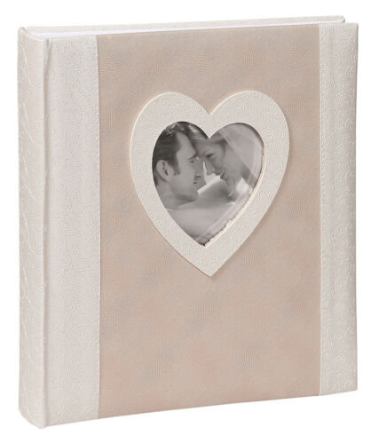 Poesie Fotoalbum in 29x32 cm 60 Seiten Hochzeit Foto Album mit Ausschnitt
