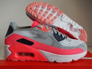 Details about NIKE AIR MAX 90 ULTRA 2.0 FLYKNIT ID WHITE SZ 6 MENS WOMENS SZ 7.5 [914123 992]