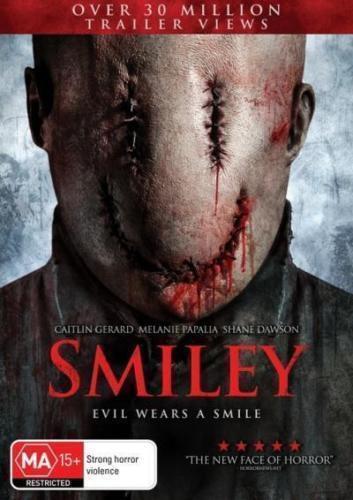 1 of 1 - Smiley (DVD) HORROR Evil wears a smile [Region 4 Australian Release] NEW/SEALED