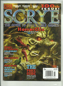 #6.3 CCG/'S, MAGIC THE GATHERING, POKEMON etc. 1999 SCRYE MAGAZINE