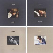 SHINEE TAEMIN [PRESS IT] 1st Album RANDOM CD+Photo Book+Card+GIFT K-POP SEALED