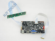 NJY TOUCH HDMI VGA LCD Controller Board for B116XAN02.0 eDP Panel 30Pin 1366x768
