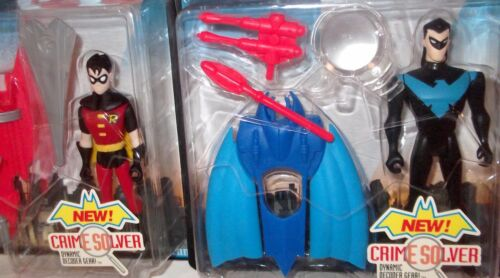 Crime Fighter Robin Nightwing Figure /'98 New Batman Adventures MOC Japan casefre