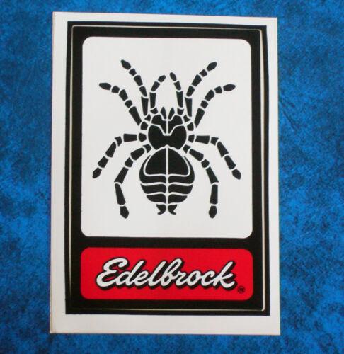 Original Vintage 1970,s  Racing sticker EDELBROCK  Tarantula .