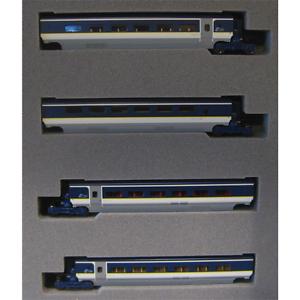 Kato-10-1298-Eurostar-Color-E300-4-Cars-Add-On-Set-N