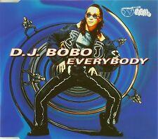 Maxi CD - D.J. BoBo - Everybody - #A1872