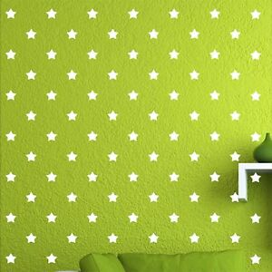 180-of-2-034-White-Star-DIY-Decor-Removable-Peel-Stick-Wall-Vinyl-Decal-Sticker