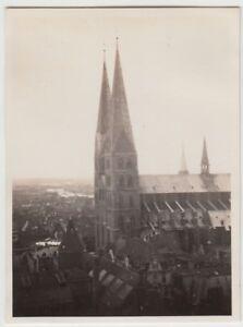 (f24122) Orig. Photo Lübeck, - Marie église 1930-afficher Le Titre D'origine Non Repassant