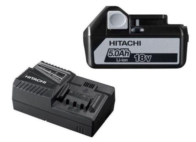 Hitachi 93199710 Booster Pack BSL1850 + UC18YFSL (18V, 5.0Ah) Ladegerät + Akku