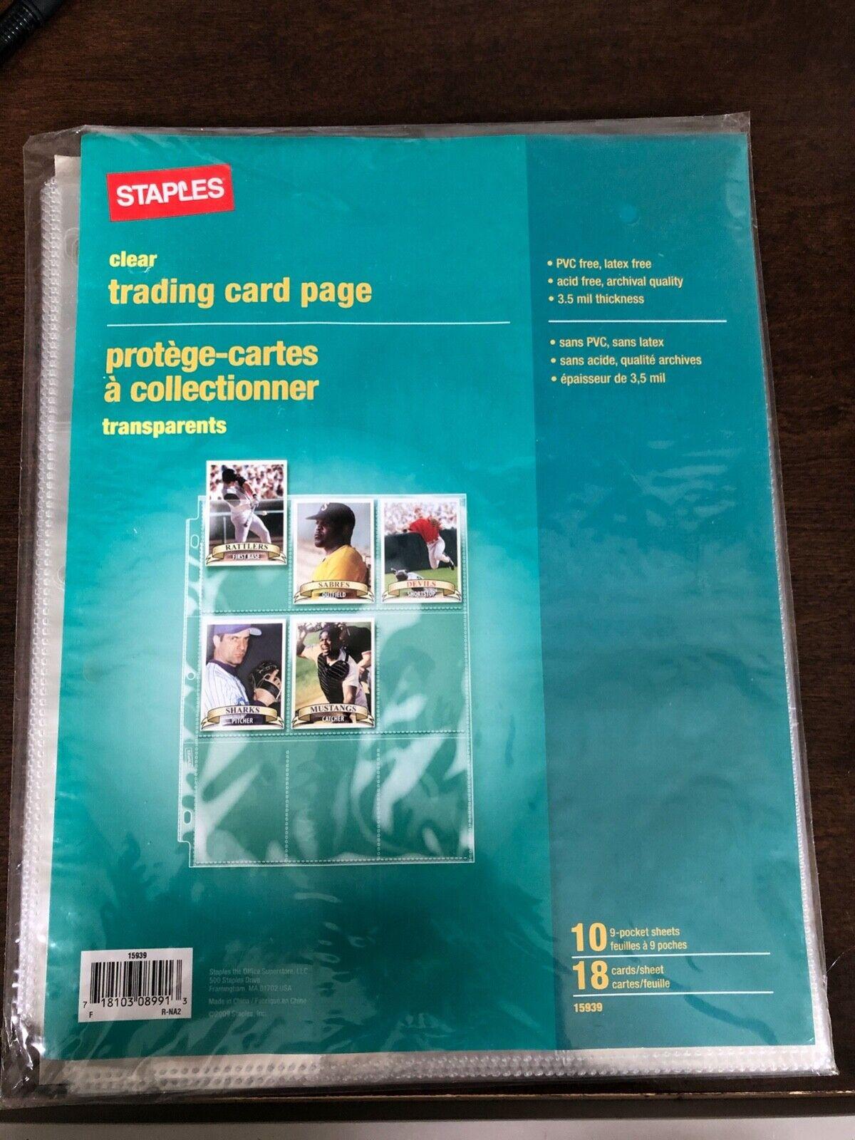 Viewpoint Artist Trading Card Single Mat Cream 8/×10 10-Pack
