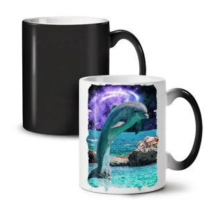 Ocean Rock Dolphin NEW Colour Changing Tea Coffee Mug 11 oz | Wellcoda