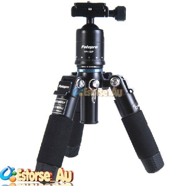 FOTOPRO M-5 Mini Travel Tripod Fr Canon 7D II 760D 750D 1200D 70D 700D 100D 650D
