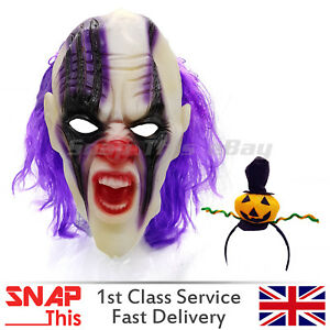 EVIL-Mascara-Pelo-Cosplay-latex-cara-completa-Horror-Adulto