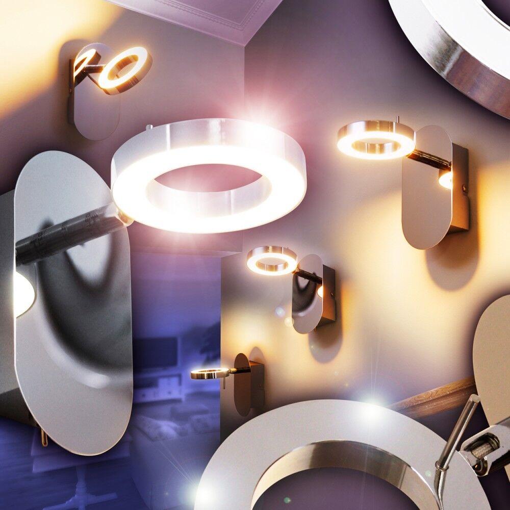 LED Lámpara de parot metal ajustable dispone interruptor entrada salón pasillo