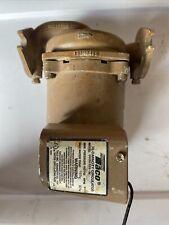 Taco 2400 50s 3p Series 2400 Stainless Steel Circulator Pump 12 Hp 115 V