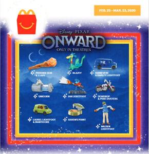 2020 McDONALD'S Disney Onward Pixar HAPPY MEAL TOYS Choose Toy or Set