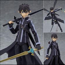 Sword Art Online II Kirigaya Kazuto Kirito Alo Ver. figma 289 PVC New In Box