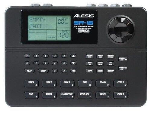 Alesis SR-16 16 Bit Drum Machine w//Natural Drum Sounds BRAND NEW FAST SHIPPING!