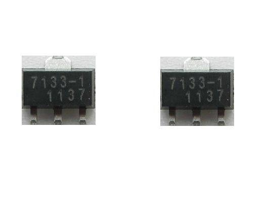 5pcs SMD HT7330-1 Low Dropout Voltage Regulator SOT-89