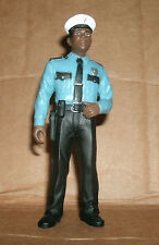 1/18 Scale Police Officer Figure - Patrolman Diorama Model Policeman Accessory