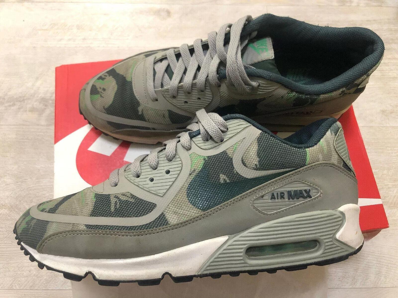 Nike Air Max 90 PRM Prem Premium Tape Sneaker Gr. 44 Camo Camouflage RAR Gamma