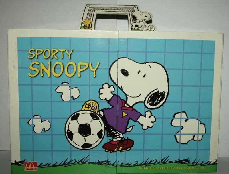 nueva marca SPORTY SNOOPY PEANUTS MCDONALD'S MCDONALD'S MCDONALD'S Figura NUOVE SIGILLATE VER JAP TN1 49971  punto de venta