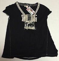 Meadow Rue Shirt Small Black Anthropologie Basic