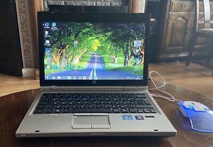 "HP Elitebook 2560p Laptop 12.5"" HD Powerful Notebook, Windows 10 Pro"