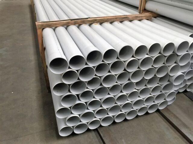 PVC Pipe 100mm DWV 6 metre length plus Socket Watermark Approved