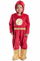 PREMIUM The Flash Jumpsuit Deluxe Costume DC Baby Toddler 6 9 12 18 24 months 2T