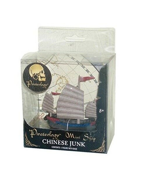 Chinese Junk Pirateology Mini Ship