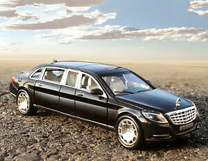 1:24 mercedes maybach s600 limousine diecast metal model car new in